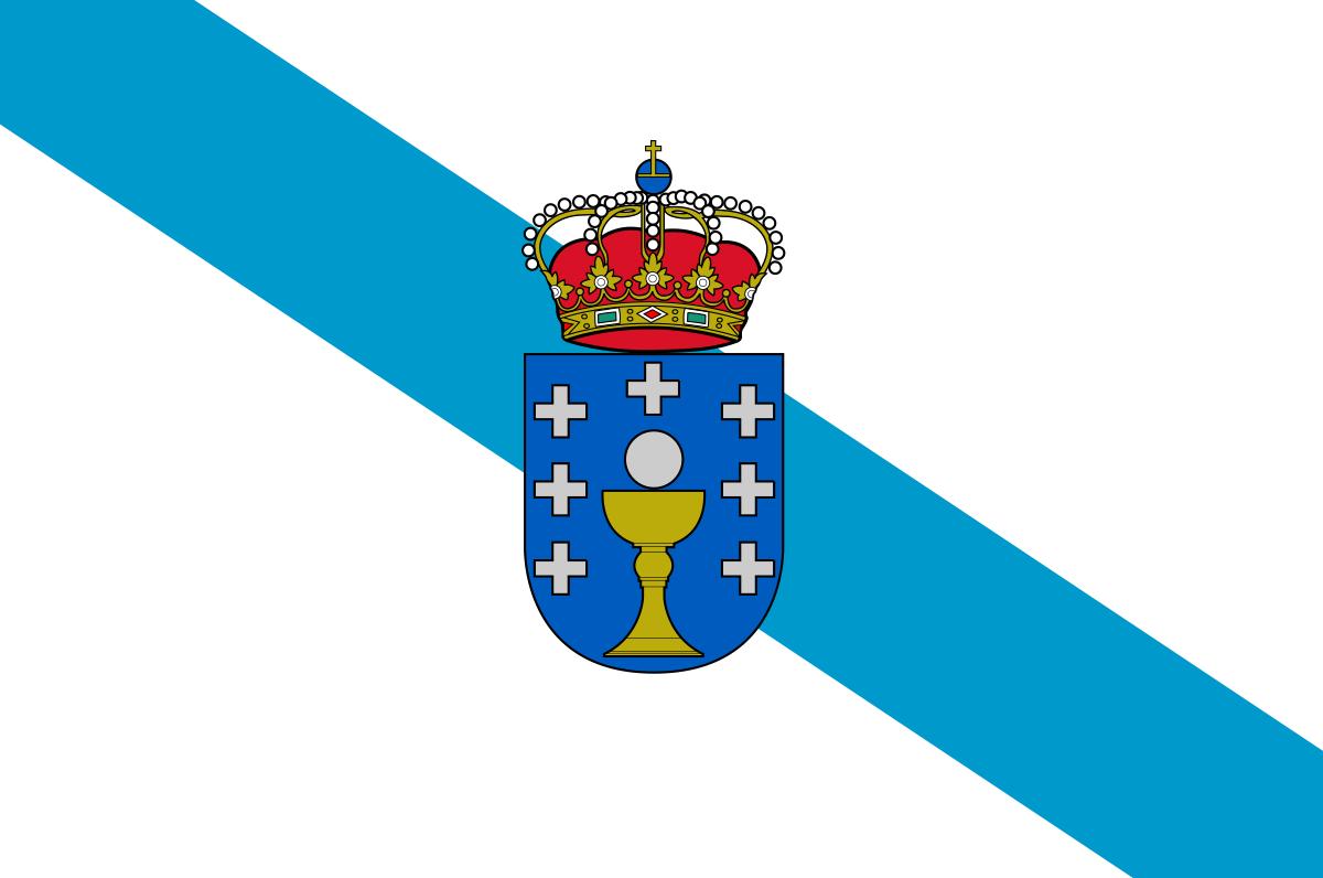 Bandera de la provincia de A Coruña