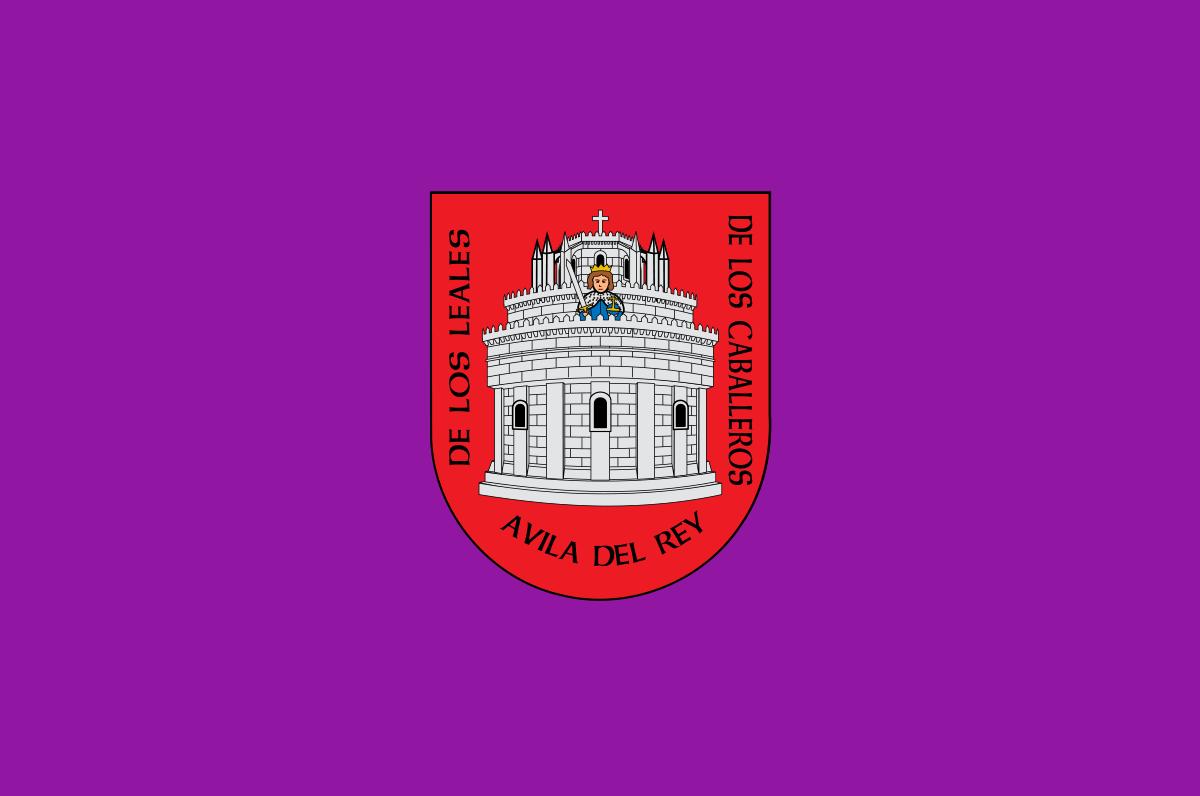 Bandera de la provincia de Ávila