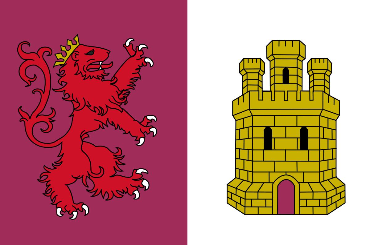 Bandera de la provincia de Cáceres