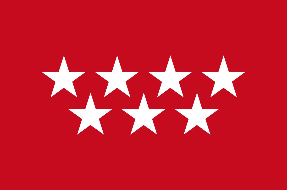 Bandera de la Comunidad de Madrid