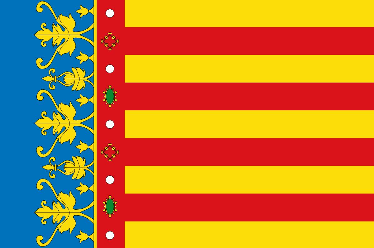 Bandera de la Comunidad Valenciana