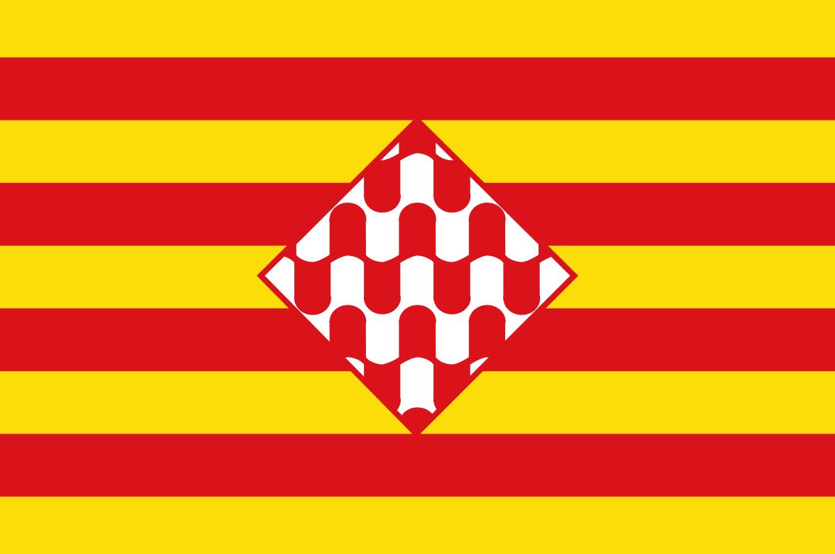 Bandera de la provincia de Girona