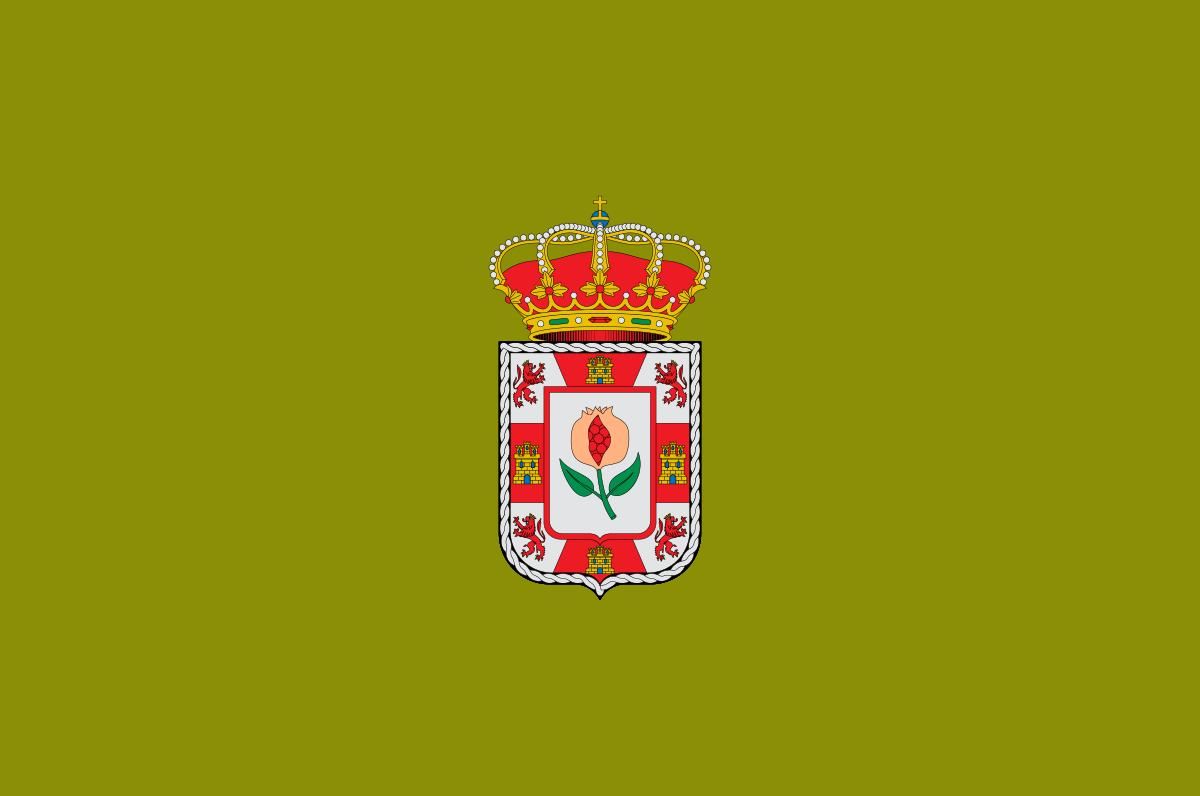Bandera de la provincia de Granada