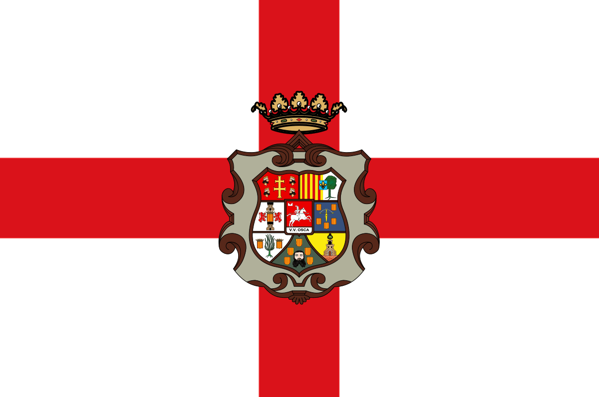 Bandera de la provincia de Huesca