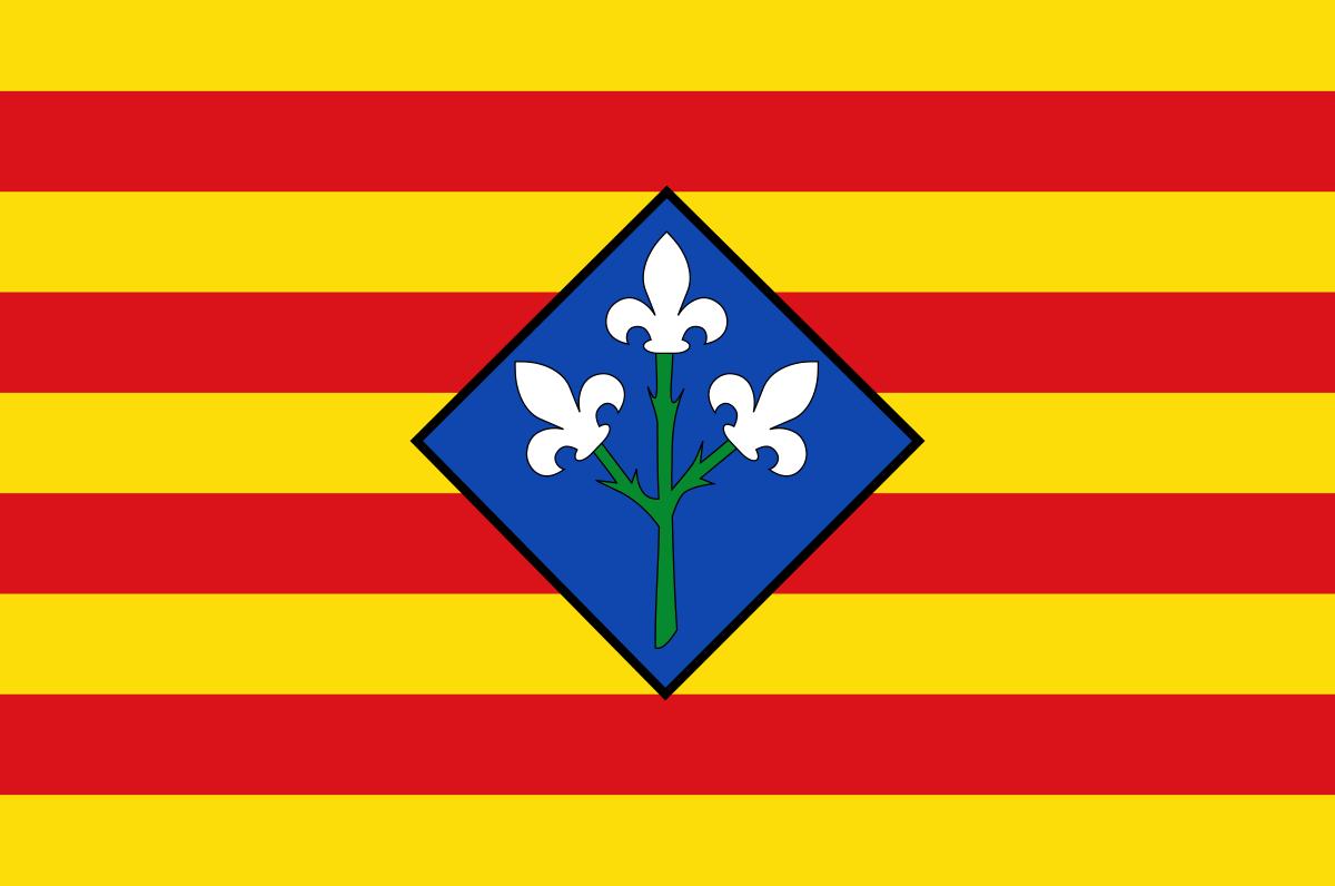 Bandera de la provincia de Lleida