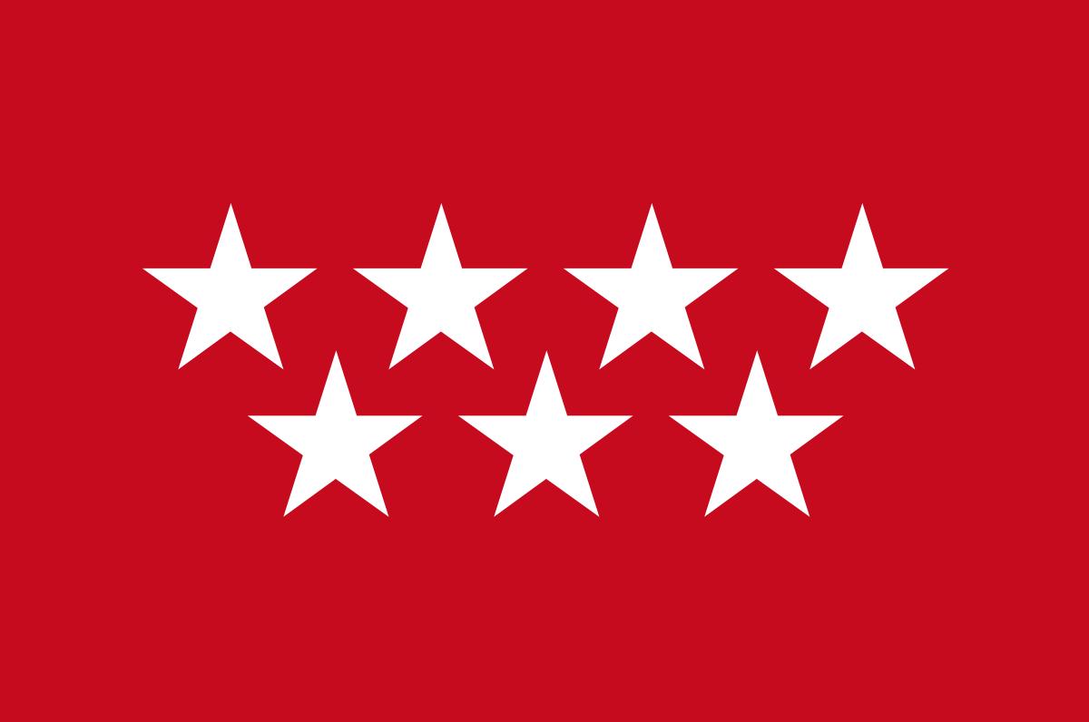 Bandera de la provincia de Madrid