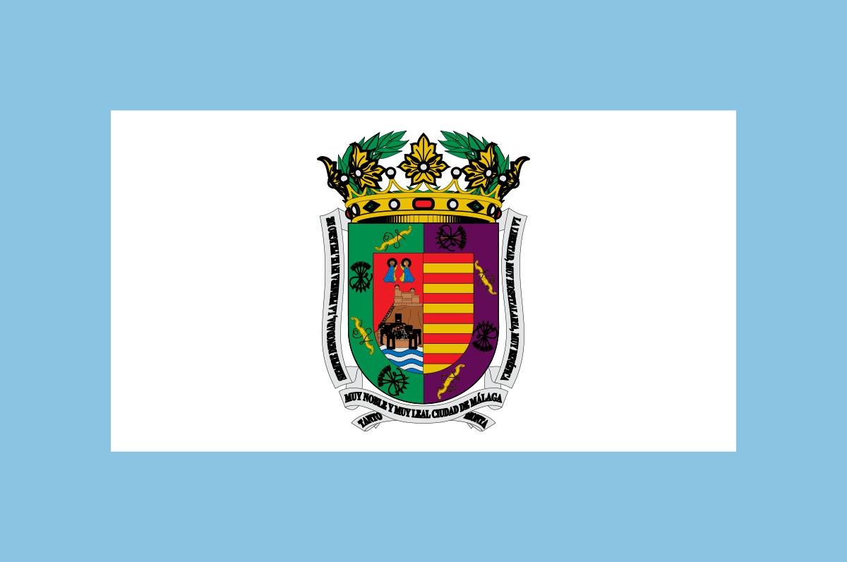 Bandera de la provincia de Málaga