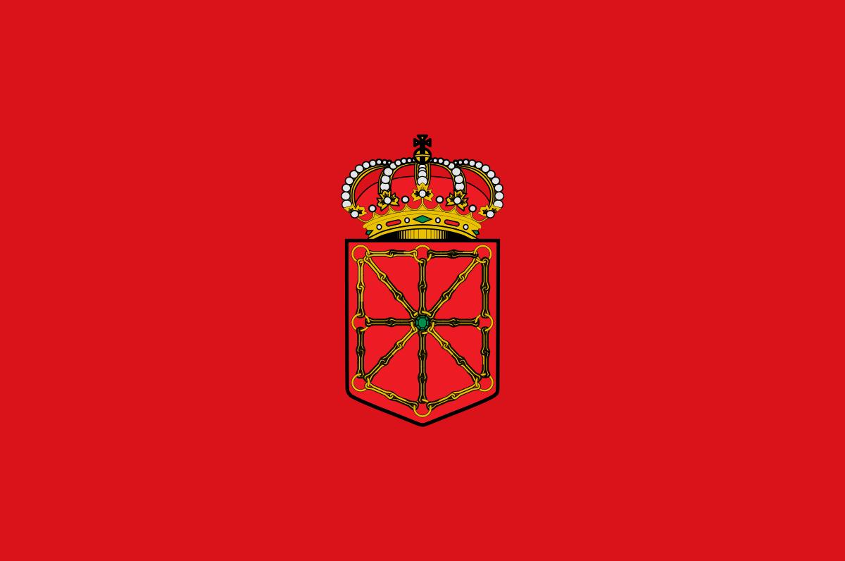 Bandera de la provincia de Navarra