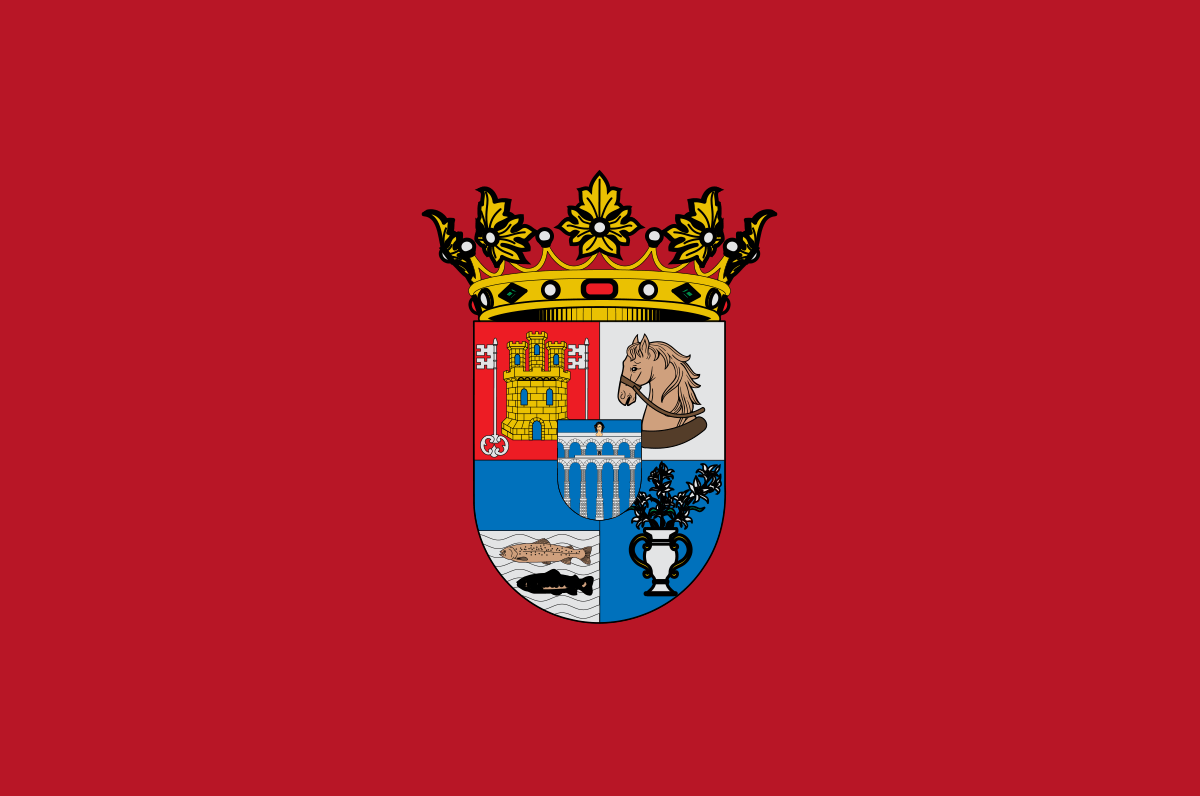 Bandera de la provincia de Segovia