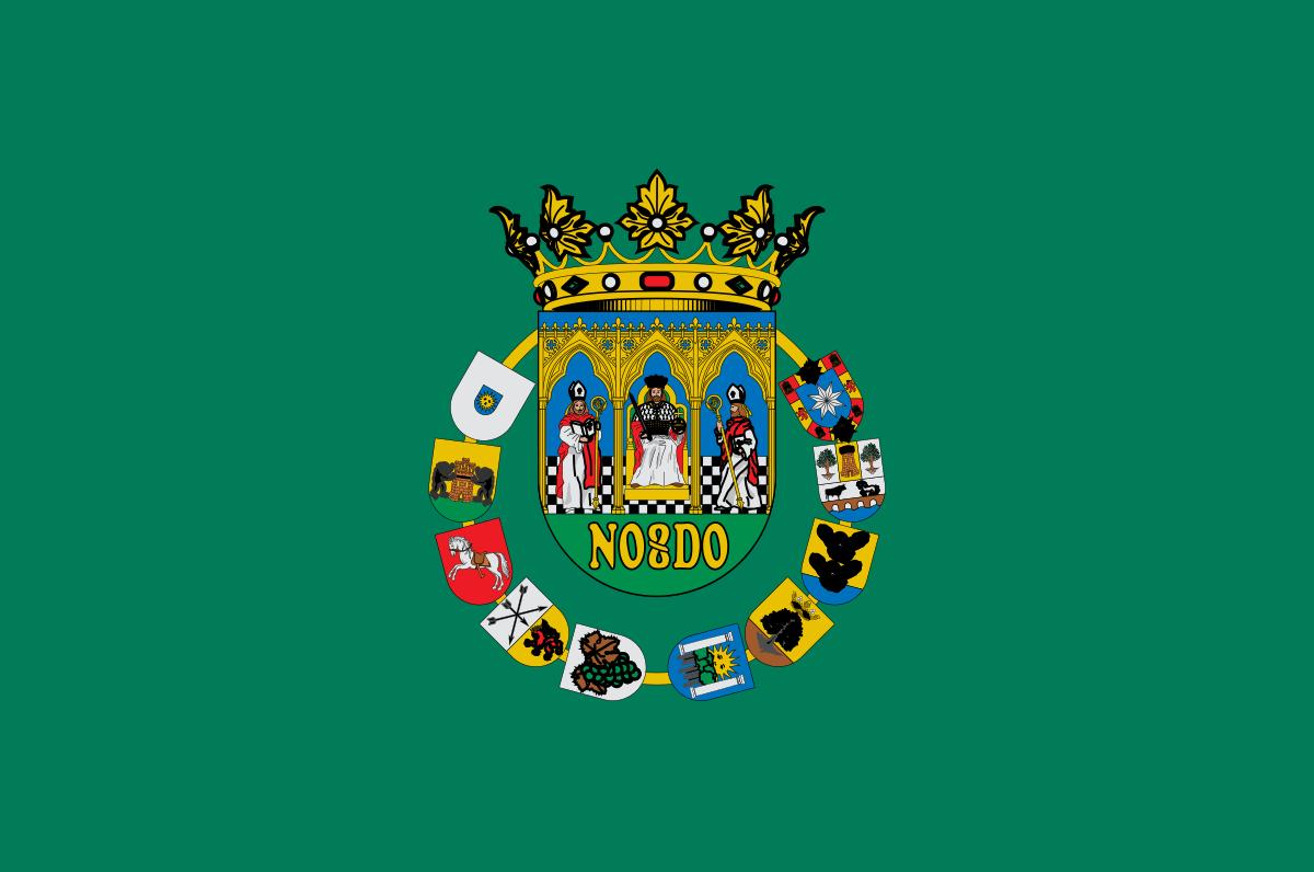 Bandera de la provincia de Sevilla
