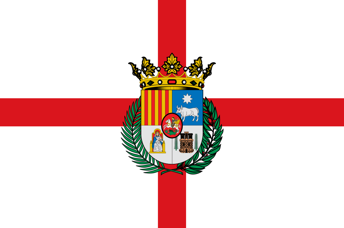 Bandera de la provincia de Teruel