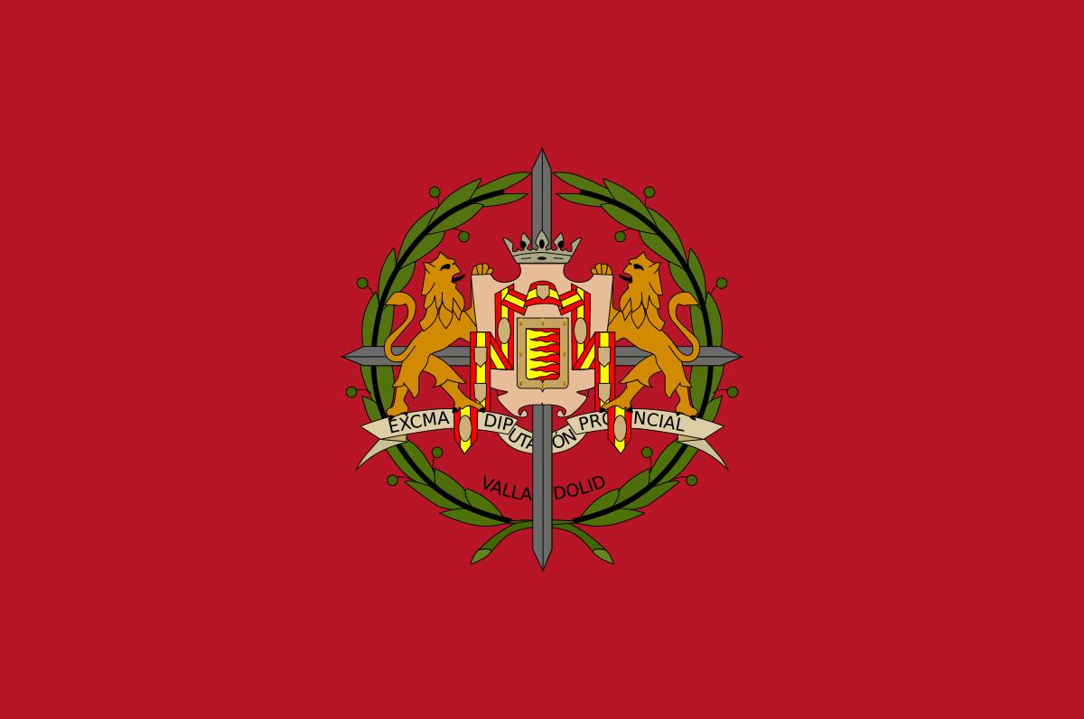 Bandera de la provincia de Valladolid