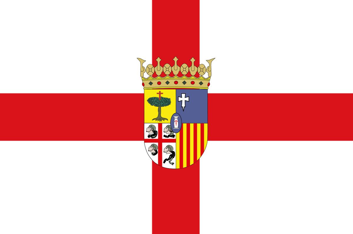 Bandera de la provincia de Zaragoza