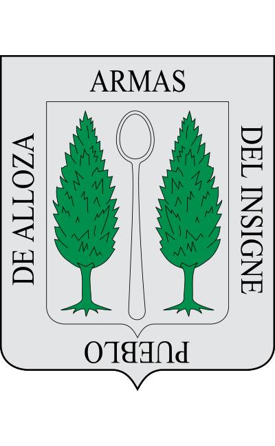 Escudo de Alloza