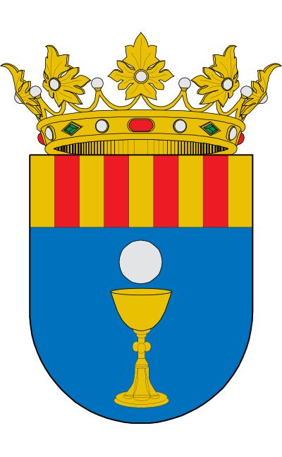 Escudo de Alconchel de Ariza