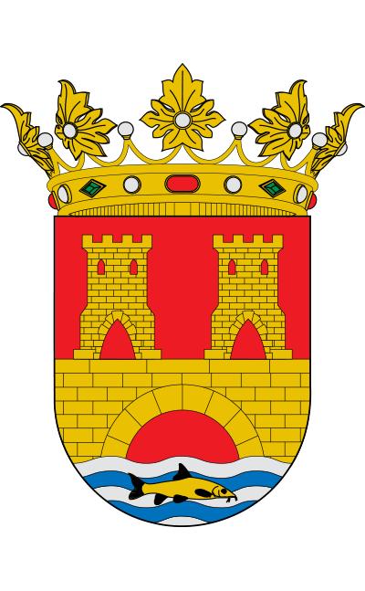 Escudo de Alhama de Aragón