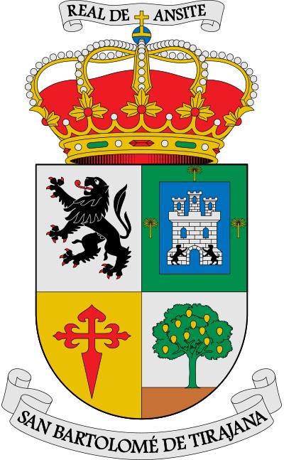 Escudo de San Bartolomé de Tirajana