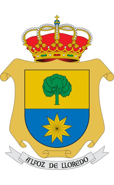 Escudo de Alfoz de Lloredo