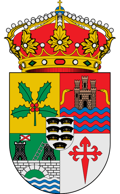 Escudo de Acebrón, El