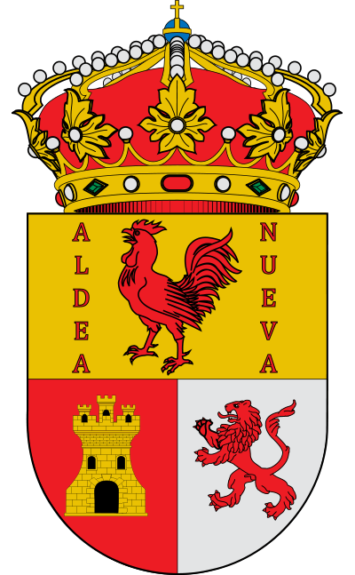 Escudo de Aldeanueva de Guadalajara