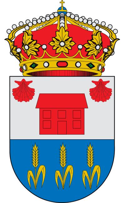 Escudo de Bercianos del Real Camino