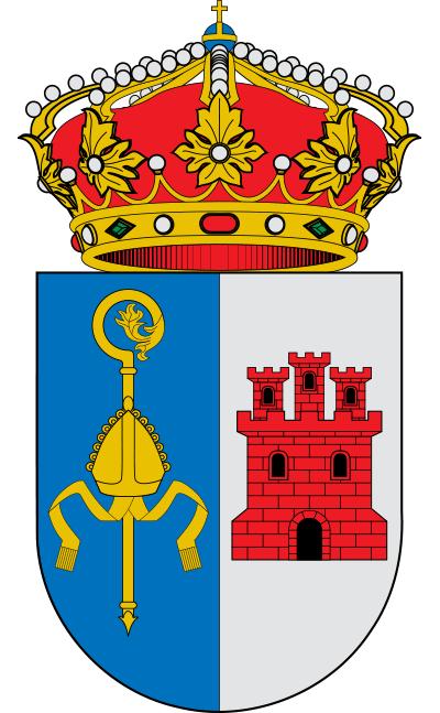 Escudo de Aldea del Obispo