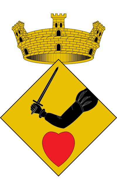 Escudo de Albinyana