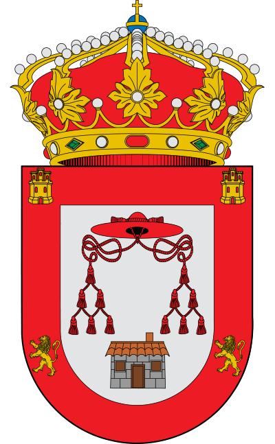 Escudo de Aldea del Obispo, La