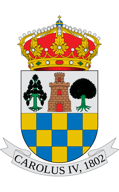 Escudo de Aldeanueva de la Vera