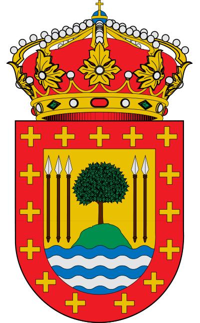 Escudo de Baña, A
