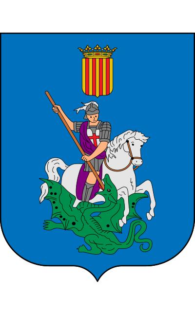 Escudo de Castell, Es