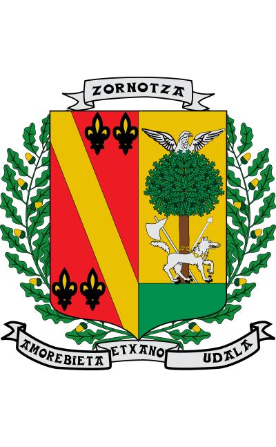 Escudo de Amorebieta-Etxano