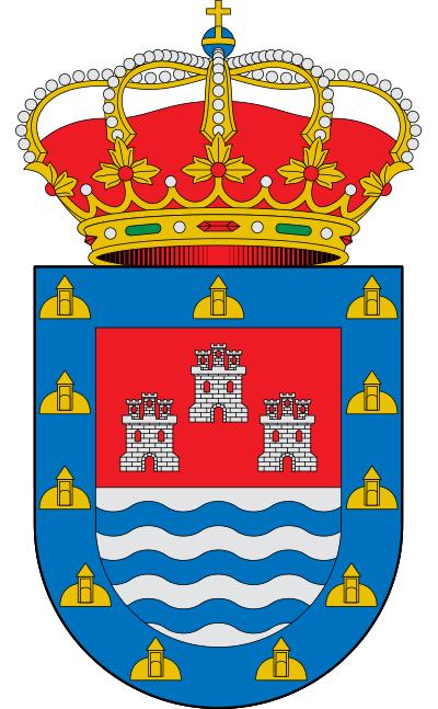 Escudo de Alcázares, Los